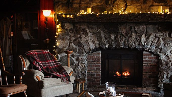 Lodge Hearth & Fireplace